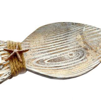 wood fish plate